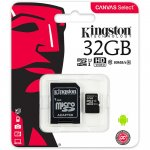 Micro SD kartica 32GB KINGSTON + adapter SDCS/32GB Class 10