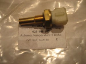 Senzor temperature glave motora Golf 3