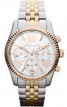 Michael Kors MK5735 Lexington Chronograph Tri-Tone