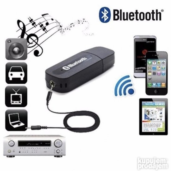 Bluetooth Audio prijemik (Bluetooth zvucnik) RECEIVER