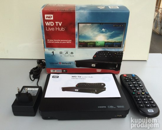 WD TV Live Hub Live Media Player