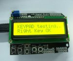 LCD Keypad Shield 16x2 display - Zuti