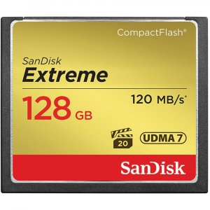 SanDisk 128GB CF Extreme 120MB/s Compact Flash
