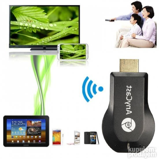 Anycast, Miracast, DLNA HDMi Wi-Fi TV Airplay mirascreen