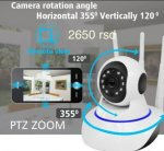 Kamere Ip, video nadzor ,Wifi, baby alarm ptz,