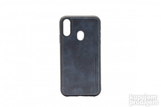 TPU Pol Ar Leather za Galaxy A20 / A30 - Plava