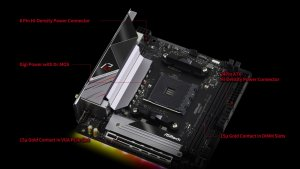 ASROCK B550 Phantom Gaming-ITX / ax