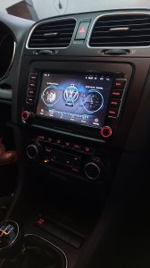 VW Golf 5 6 Passat b6 b7 CC polo vw multimedia 2G+32 android