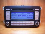 VW Passat b6/golf 5/cedy Fabricki cd radio RCD 300 hrom