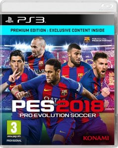 PS3 Pro Evolution Soccer 2018 - PES 2018 PS3
