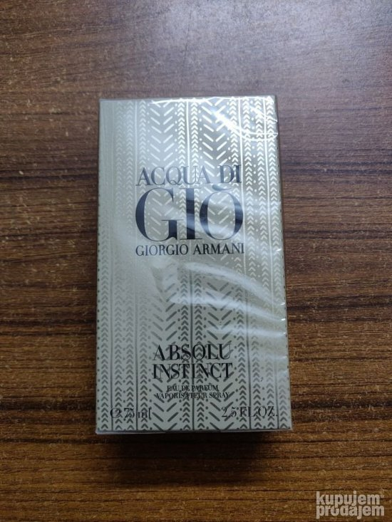Armani Acqua di Gio Absolu Instinct edp - 75ml
