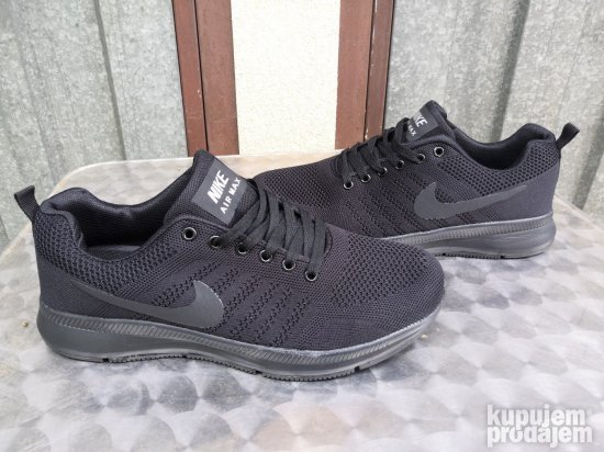 Obuca Muska Nike Air Skroz Crne Lagane Patike Model 2019 Novo